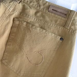 Cambio Jeans Jeans - Cambio Norah Slim Straight Leg Yellow Jeans 8